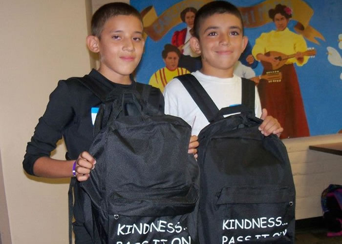 Shyann Kindness Project, Recipient
